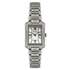 Rotary Ladies' Stainless Steel Bracelet Watch - Product number 1013637