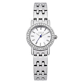 Oasis Ladies' Crystal Stainless Steel Bracelet Watch - Product number 1014218