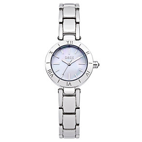 Oasis Ladies' Mother Of Pearl Dial Alloy Bracelet Watch - Product number 1014234