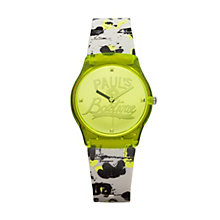 Paul's Boutique Ladies' Multi-coloured Strap Watch - Product number 1014528