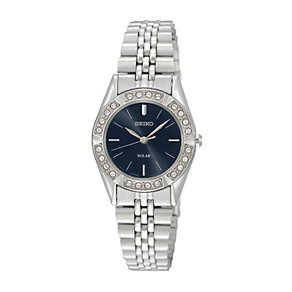 Seiko Solar Ladies' Stainless Steel Bracelet Watch - Product number 1014773