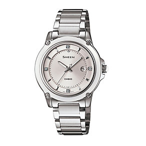 Casio Sheen Ladies' Stainless Steel Bracelet Watch - Product number 1015397