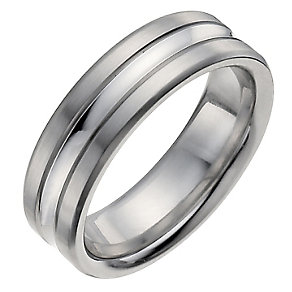 Cobalt men's band ring - Product number 1017772