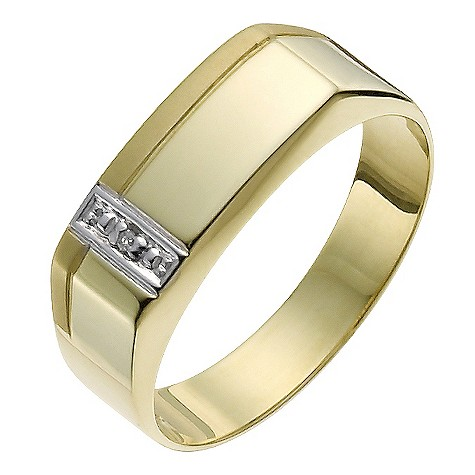 yellow gold signet ring shop for cheap gifts and save online. Black Bedroom Furniture Sets. Home Design Ideas