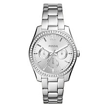 Fossil Scarlette Ladies' Stainless Steel Bracelet Watch - Product number 1019228