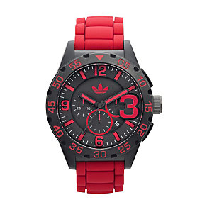 Adidas Newburgh Red Strap Watch - Product number 1021117