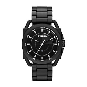 Diesel Men's Stainless Steel Black Strap Watch - Product number 1021532