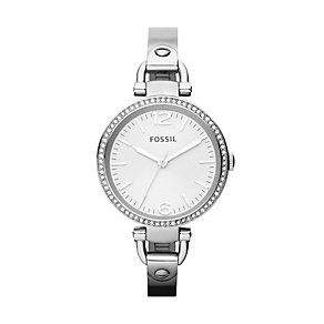 Fossil Georgia Ladies' Stainless Steel Bracelet Watch - Product number 1021729
