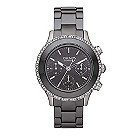 DKNY ladies' round black ceramic bracelet watch - Product number 1025554