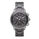 DKNY ladies' round black ceramic bracelet watch - Product number 1025554