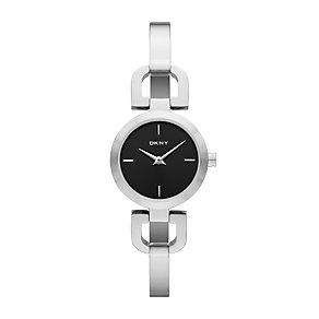 DKNY ladies' stainless steel D-link bracelet watch - Product number 1025643