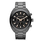 Michael Kors men's black ion-plated bracelet watch - Product number 1026135