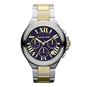 Michael Kors Camille ladies' two colour bracelet watch - Product number 1026194