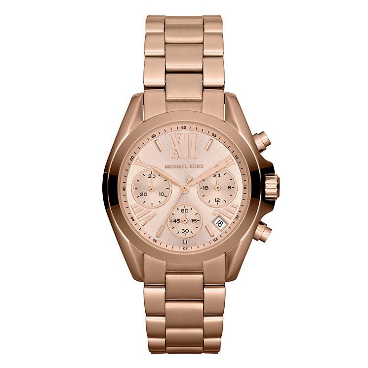 Michael Kors Ladies' Rose Gold Tone Bracelet Watch - Product number 1026496