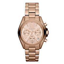 Michael Kors Ladies' Rose Gold Tone Bracelet Watch - Product number 1026496