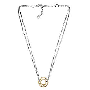 DKNY stainless steel double chain necklace - Product number 1026976