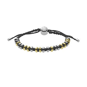 DKNY stainless steel & gold-plated bead bracelet - Product number 1026992