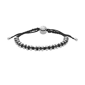DKNY stainless steel bead black cord bracelet - Product number 1027018