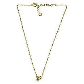 DKNY gold-plated stone set knot necklace - Product number 1027034