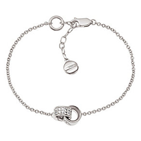 Emporio Armani ladies' sterling silver stone set bracelet - Product number 1027190