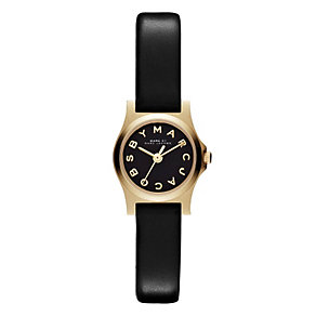 Marc by Marc Jacobs Dinky ladies' gold-plated strap watch - Product number 1028073
