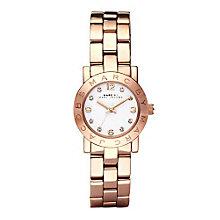 Marc Jacobs Mini Ladies' Rose Gold Tone Bracelet Watch - Product number 1028081