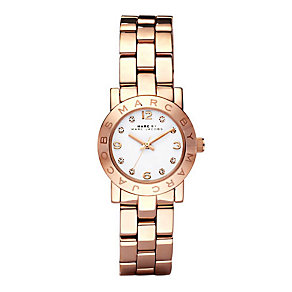 Marc by Marc Jacobs Mini ladies' rose gold-plated watch - Product number 1028081