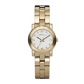 Marc by Marc Jacobs Mini ladies' gold-plated bracelet watch - Product number 1028103