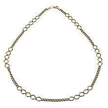Together Bonded Silver & 9ct Gold Multi Link Bracelet - Product number 1029320