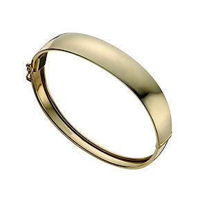 Together Bonded Silver & 9ct Gold Bangle - Product number 1029428