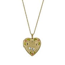 "Together Bonded Silver & 9ct Gold 18"" Mum Locket - Product number 1031422"