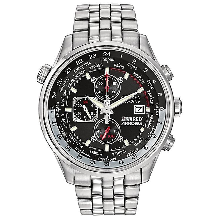 Citizen Eco-Drive Red Arrows men's steel bracelet watch - Product number 1036394