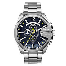 Diesel Mega Chief Men's Stainless Steel Bracelet Watch - Product number 1036661