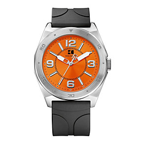 Hugo Boss Orange Men's Stainless Steel Black Strap Watch - Product number 1036971