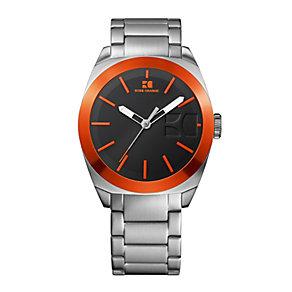 Boss Orange Men's Black Dial Stainless Steel Bracelet Watch - Product number 1037064