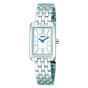 Lorus Ladies' White Dial Stainless Steel Bracelet Watch - Product number 1046756