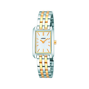 Lorus Ladies' Two Tone Stainless Steel Bracelet Watch - Product number 1046764