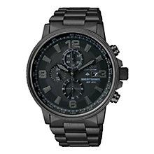 Citizen Eco-Drive Nighthawk Men's Black Bracelet Watch - Product number 1047272