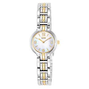 Citizen Eco-Drive Ladies' Two Colour Bracelet Watch - Product number 1047310