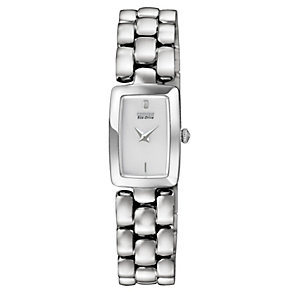 Citizen Eco-Drive Ladies' Stainless Steel Bracelet Watch - Product number 1047329
