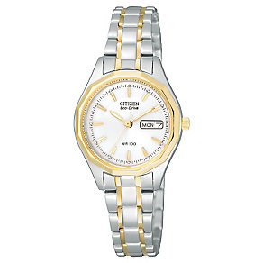 Citizen Eco-Drive Ladies' Two Tone Bracelet Watch - Product number 1047361