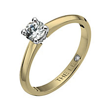 Leo Diamond 18ct yellow & white gold 0.33ct I-I1 ring - Product number 1051121