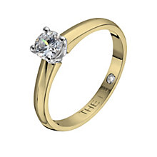 Leo Diamond 18ct yellow & white gold 0.40ct I-I1 ring - Product number 1051253