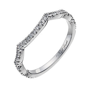 Neil Lane 14ct white gold 18 point diamond ring - Product number 1052306