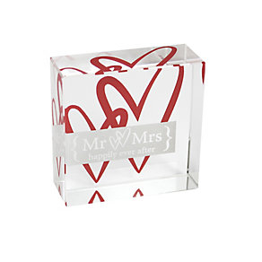 Mr & Mrs Ruby Anniversary Memento - Product number 1054236
