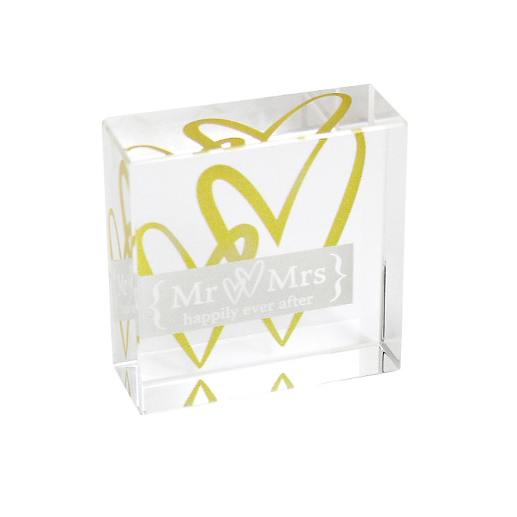 Mr & Mrs Gold Anniversary Memento - Product number 1054244