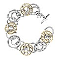 DKNY Two Colour Circle Logo Bracelet - Product number 1057197
