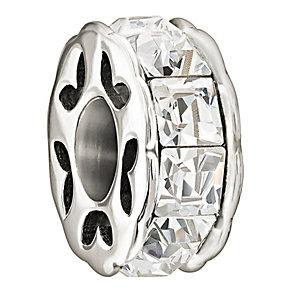 Chamilia Sparkling white Swarovski Crystal charm - Product number 1058436