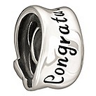Chamilia Congratulations sterling silver bead - Product number 1058738