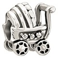 Chamilia Sterling Silver Baby Buggy Bead - Product number 1060201